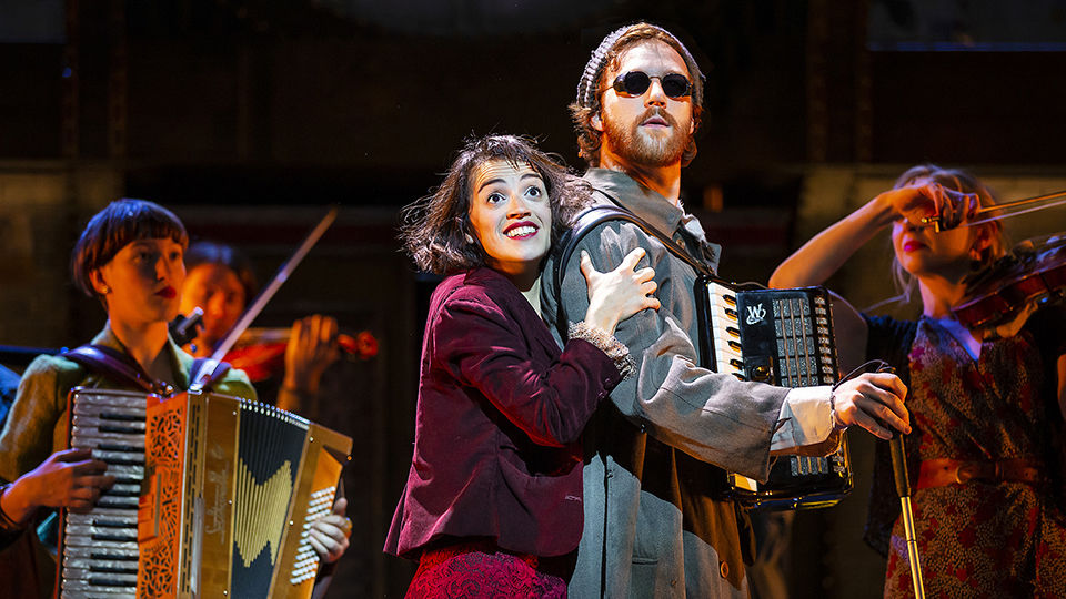 Jack Quarton in Amelie The Musical, at the Criterion Theatre